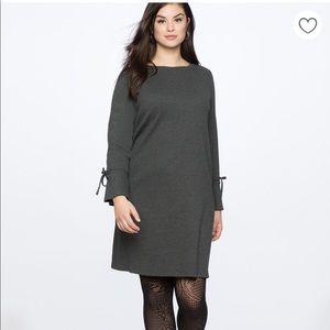 Eloquii Tie Sleeve Easy Dress NWOT Size 14/16